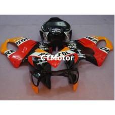 CTMotor 2001-2003 HONDA CBR 600 CBR600 F4i FAIRING 07A  Repsol