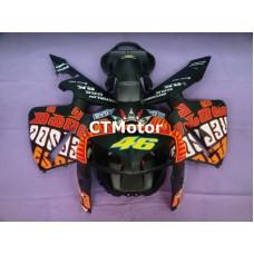 CTMotor 2005-2006 HONDA CBR 600 RR 600RR F5 FAIRING FDB