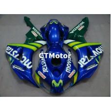 CTMotor 2006-2007 HONDA CBR 1000 RR 1000RR FAIRING CRA Movistar