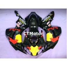 CTMotor 2006-2007 HONDA CBR 1000 RR 1000RR FAIRING CVA Redbull