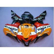CTMotor 2007-2008 HONDA CBR 600 RR 600RR F5 FAIRING 54A Repsol