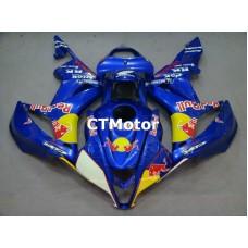 CTMotor 2007-2008 HONDA CBR 600 RR 600RR F5 FAIRING 51A Redbull