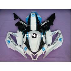CTMotor 2007-2008 HONDA CBR 600 RR 600RR F5 FAIRING FTA Konica Minolta