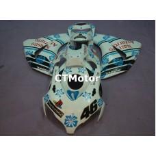 CTMotor 2008 2009 2010 2011 HONDA CBR 1000 RR FAIRING DCB PlayStation