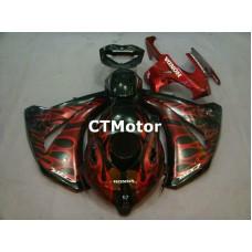 CTMotor 2008 2009 2010 2011 HONDA CBR 1000 RR FAIRING DDB Flame
