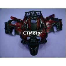 CTMotor 1991-1994 HONDA CBR 600 CBR600 F2 FAIRING 72B Flame