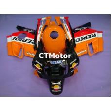 CTMotor 1991-1994 HONDA CBR 600 CBR600 F2 FAIRING 75A Repsol