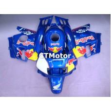 CTMotor 1991-1994 HONDA CBR 600 CBR600 F2 FAIRING 74A Redbull