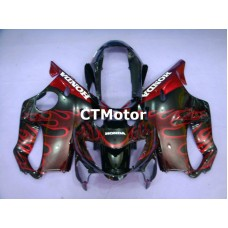 CTMotor 1999-2000 HONDA CBR 600 CBR600 F4 FAIRING 96B Flame