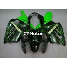 CTMotor 2000-2001 KAWASAKI ZX12R ZX-12R 12R FAIRING 49B Flame
