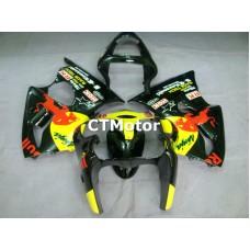 CTMotor 2000 2001 2002 KAWASAKI ZX6R ZX-6R 636 FAIRING 08A Redbull