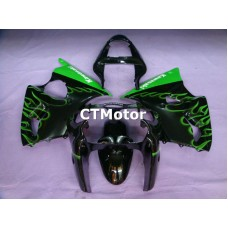 CTMotor 2000 2001 2002 KAWASAKI ZX6R ZX-6R 636 FAIRING 60B Flame
