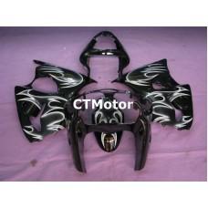 CTMotor 2000 2001 2002 KAWASAKI ZX6R ZX-6R 636 FAIRING 80B Flame