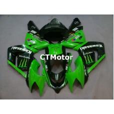 CTMotor 2004-2005 KAWASAKI ZX10R ZX-10R 10R FAIRING 41A Monster