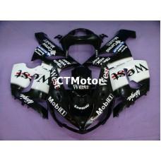 CTMotor 2005-2006 KAWASAKI ZX6R ZX-6R 636 FAIRING 67A West