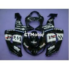 CTMotor 2006-2007 KAWASAKI ZX10R ZX-10R 10R FAIRING 45A West