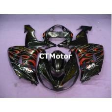 CTMotor 2006-2007 KAWASAKI ZX10R ZX-10R 10R FAIRING 88B Flame