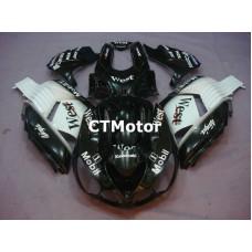CTMotor 2006 2007 2008 2009 2010 2011 KAWASAKI ZX14R ZZR 1400 FAIRING 53A West b