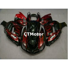 CTMotor 2006 2007 2008 2009 2010 2011 KAWASAKI ZX14R ZZR 1400 FAIRING 55B