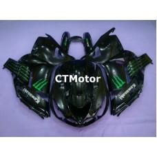 CTMotor 2006 2007 2008 2009 2010 2011 KAWASAKI ZX14R ZZR 1400 FAIRING 56A Monster