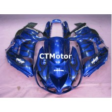 CTMotor 2006 2007 2008 2009 2010 2011 KAWASAKI ZX14R ZZR 1400 FAIRING 82B Flame