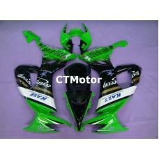 CTMotor 2008 2009 2010 KAWASAKI ZX10R ZX-10R 10R FAIRING 47A