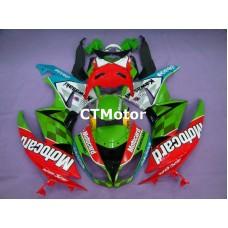 CTMotor 2009 2010 2011 2012 KAWASAKI ZX6R ZX-6R 636 FAIRING 72B Motorcard
