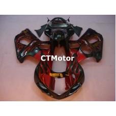 CTMotor 2000 2001 2002 SUZUKI GSXR 1000 K1 FAIRING 34B Flame