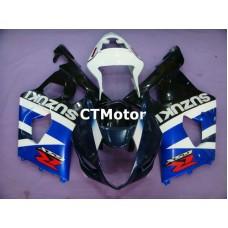 CTMotor 2003-2004 SUZUKI GSXR 1000 K3 FAIRING BLA