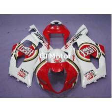 CTMotor 2003-2004 SUZUKI GSXR 1000 K3 FAIRING BXA Lucky Strike