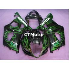 CTMotor 2003-2004 SUZUKI GSXR 1000 K3 FAIRING CNB Flame