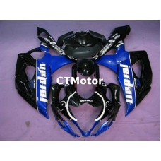 CTMotor 2005-2006 SUZUKI GSXR 1000 K5 FAIRING CDA Jordan
