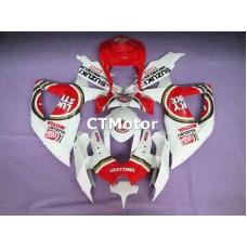 CTMotor 2008 2009 2010 SUZUKI GSXR 600 750 K8 FAIRING AHA Lucky Strike