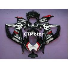 CTMotor 2008 2009 2010 SUZUKI GSXR 600 750 K8 FAIRING CCA Relentless