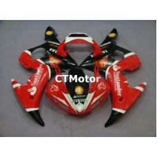 CTMotor 2003 YAMAHA YZF R6 YZFR6 YZF-R FAIRING 50A Santander
