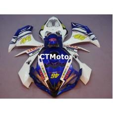 CTMotor 2007-2008 YAMAHA YZF R1 YZFR1 YZF-R FAIRING 37A Rossi