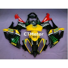 CTMotor 2008 2009 2010 2011 2012 2013 YAMAHA YZF R6 YZFR6 YZF-R FAIRING 83A Monster