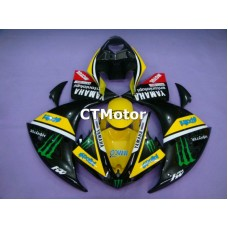 CTMotor 2009 2010 2011 YAMAHA YZF R1 YZFR1 YZF-R FAIRING 42A Monster