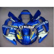 CTMotor 1998-2002 YAMAHA YZF R6 YZFR6 YZF-R FAIRING 12A Rossi