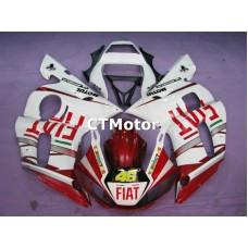 CTMotor 1998-2002 YAMAHA YZF R6 YZFR6 YZF-R FAIRING APA FIAT