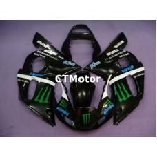 CTMotor 1998-2002 YAMAHA YZF R6 YZFR6 YZF-R FAIRING BGA Monster