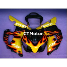CTMotor 1998-1999 YAMAHA YZF R1 YZFR1 YZF-R FAIRING 81B Flame