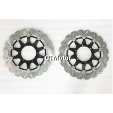 CTMotor Front Wheel Brake Disc Rotor For Honda CBR1000RR 08-10 B