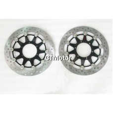 CTMotor Front Wheel Brake Disc Rotor For Honda CBR1000RR 08-10