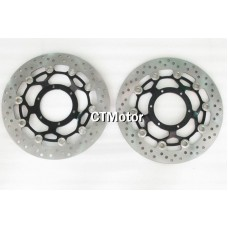 CTMotor Front Wheel Brake Disc Rotor For Honda CB1300RR 03-10