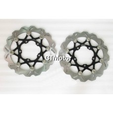 CTMotor Front Wheel Brake Disc Rotor For Suzuki GSXR1000 05-07
