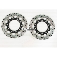 CTMotor Front Wheel Brake Disc Rotor For Yamaha YZFR1 YZF 1000 R1 07-11