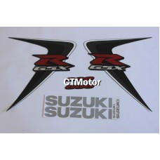 CTMotor High Quality Decal Stickers Set For 2006-2007 SUZUKI GSXR 600 750 K6 FAIRING DJB
