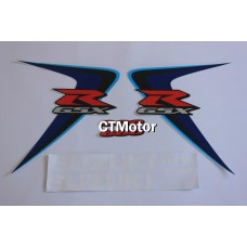CTMotor High Quality Decal Stickers Set For 2006-2007 SUZUKI GSXR 600 750 K6 FAIRING DJD