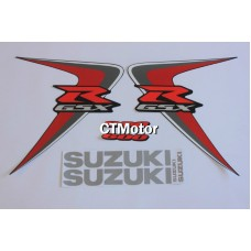 CTMotor High Quality Decal Stickers Set For 2006-2007 SUZUKI GSXR 600 750 K6 FAIRING DJE